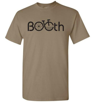 Bicycle Booth Brown Savana / S Men's Bicycle Booth T Shirt