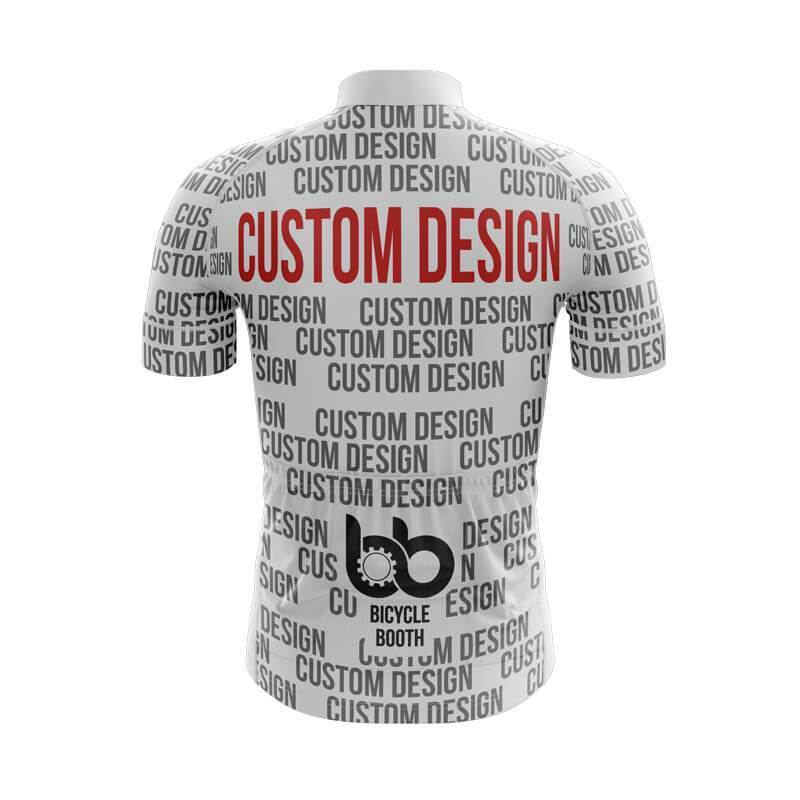 Bicycle Booth Custom Short Sleeve Jersey XXS / Male Custom Short Sleeve Jersey