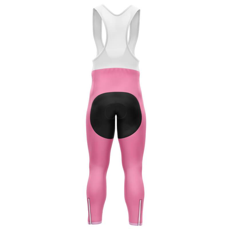 Bicycle Booth Cycling Bib Pants XXS / Male / Thermal Fleece Breast Cancer Bib Pants (V3)