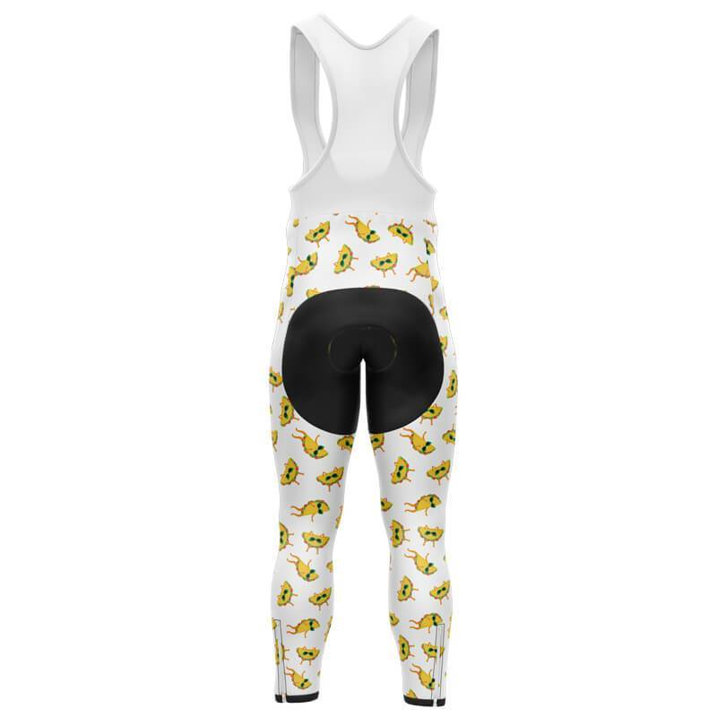 Bicycle Booth Cycling Bib Pants XXS / Male / Thermal Fleece It's Taco Time Pants (V3)