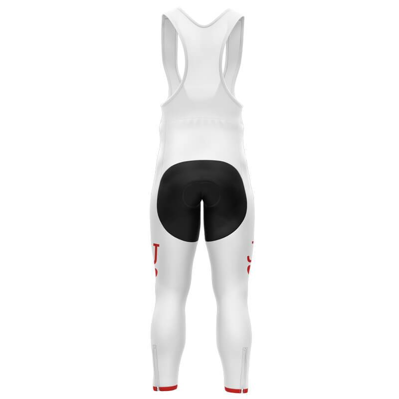 Bicycle Booth Cycling Bib Pants XXS / Male / Thermal Fleece JACK HEART Bib Pants