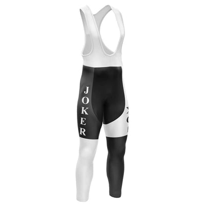 Bicycle Booth Cycling Bib Pants JOKER BLACK WHITE Bib Pants