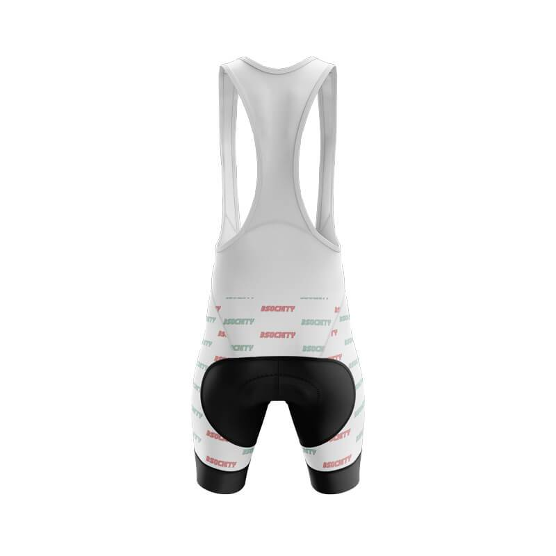 Bicycle Booth Cycling Shorts XXS / Male / Bib B Society Bib & Shorts (V3) (White)