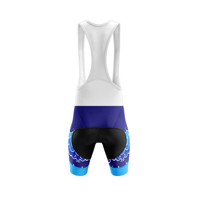 Bicycle Booth Cycling Shorts XXS / Male / Bib Brother Shark Bib & Shorts (V1)