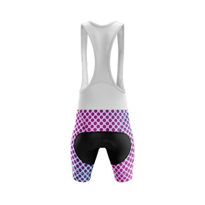 Bicycle Booth Cycling Shorts Gradient Dotted Bib & Shorts V1