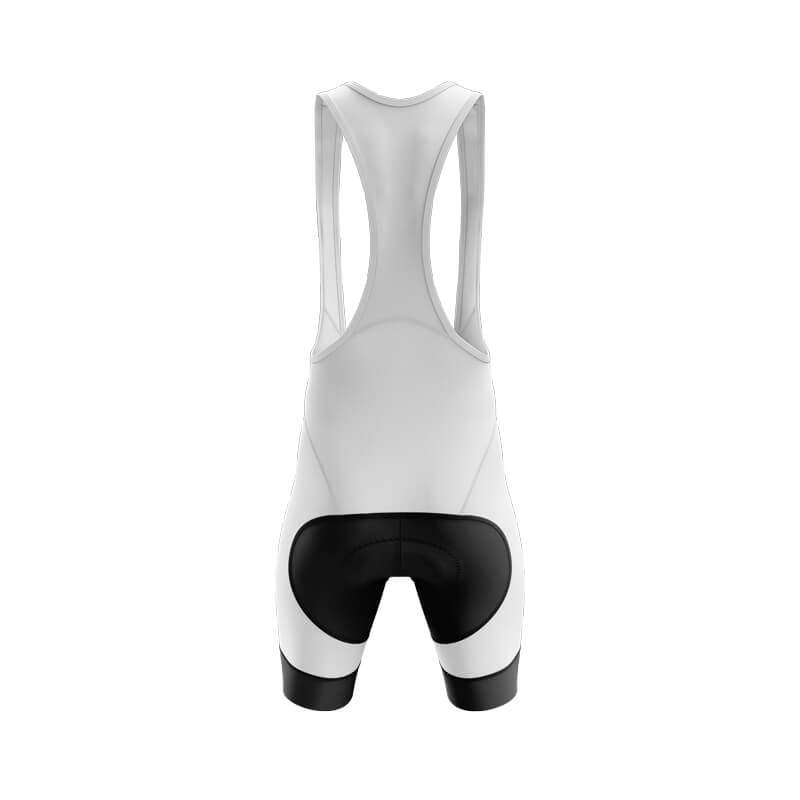 Bicycle Booth Cycling Shorts XXS / Male / Bib Guy Fawkes Bib & Shorts (V1) (White)