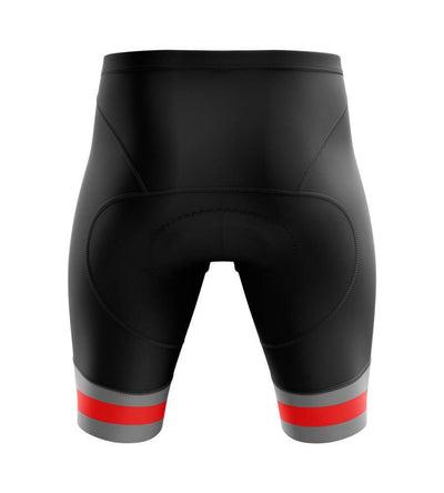 Bicycle Booth Cycling Shorts Padded Thin Red Rim Shorts