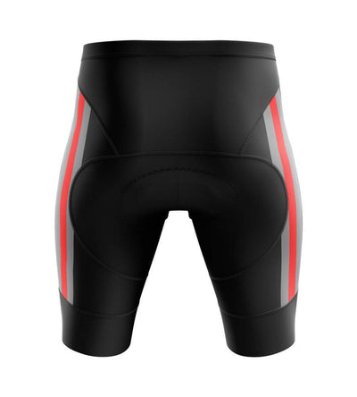 Bicycle Booth Cycling Shorts Padded Thin Red Side Shorts