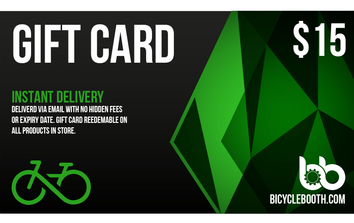 Bicycle Booth Gift Card 15.00 USD 15$ Gift Card