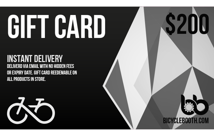 Bicycle Booth Gift Card $150.00 USD 200$ Gift Card