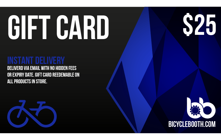 Bicycle Booth Gift Card $25.00 USD 25$ Gift Card