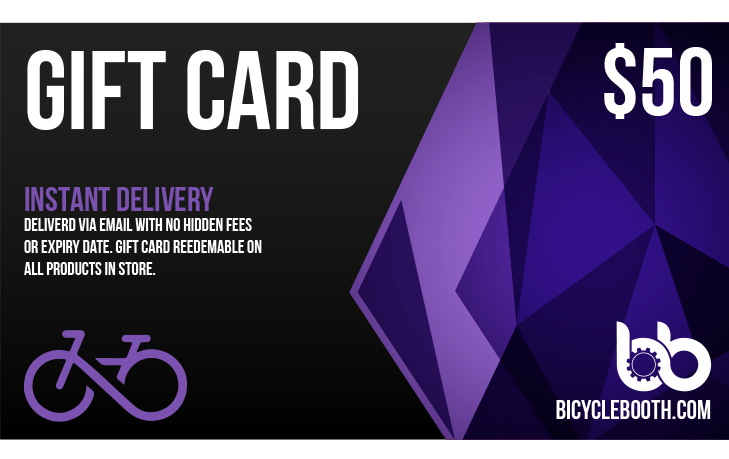 Bicycle Booth Gift Card $50.00 USD 50$ Gift Card