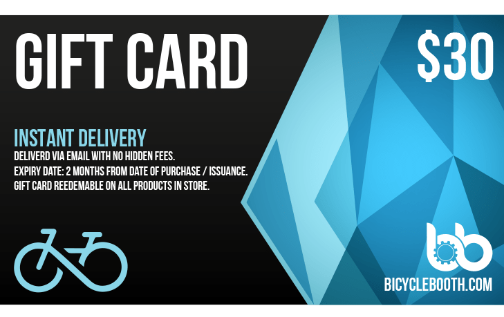 Bicycle Booth Gift Card US$30.00 Pre-Order Gift: 30$ Gift Card