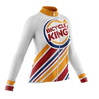 Bicycle Booth Long Sleeve Jerseys Bicycle King Long Sleeve Jersey (V2)