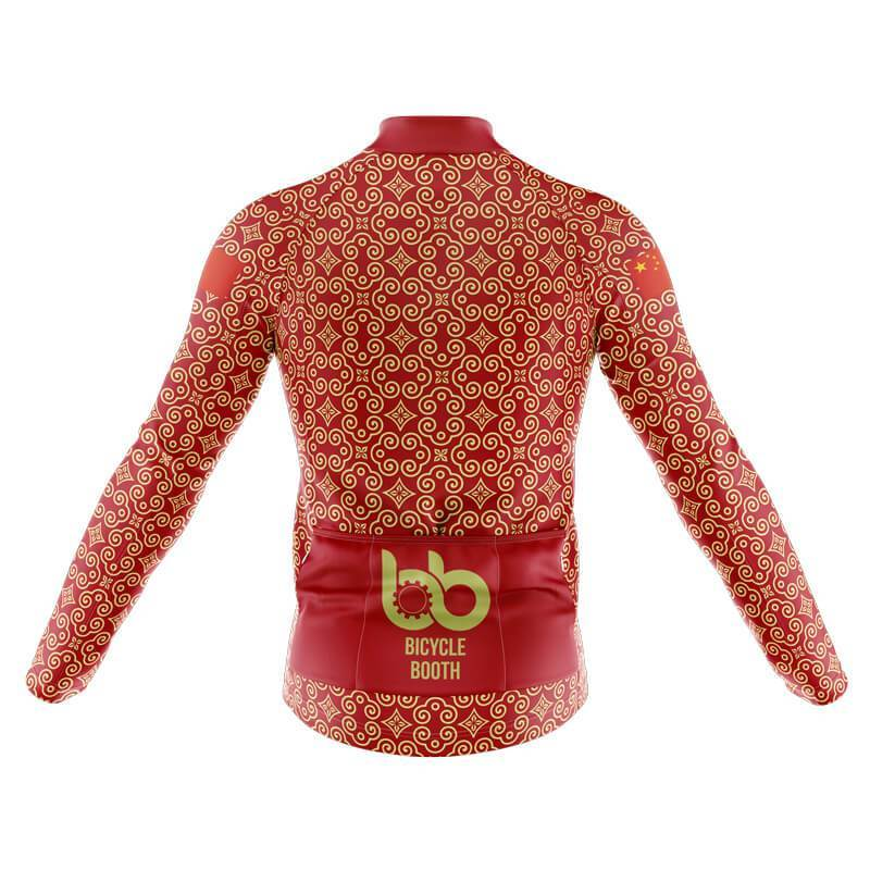 Bicycle Booth Long Sleeve Jerseys XXS / Male China Long Sleeve Jersey (V6)