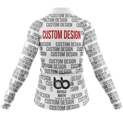 Bicycle Booth Long Sleeve Jerseys Custom Design Long Sleeve Jersey