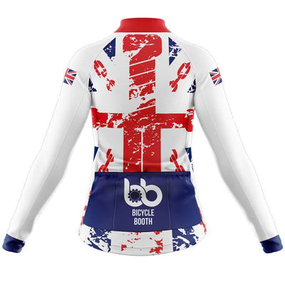 Bicycle Booth Long Sleeve Jerseys England Long Sleeve Jersey (V2)
