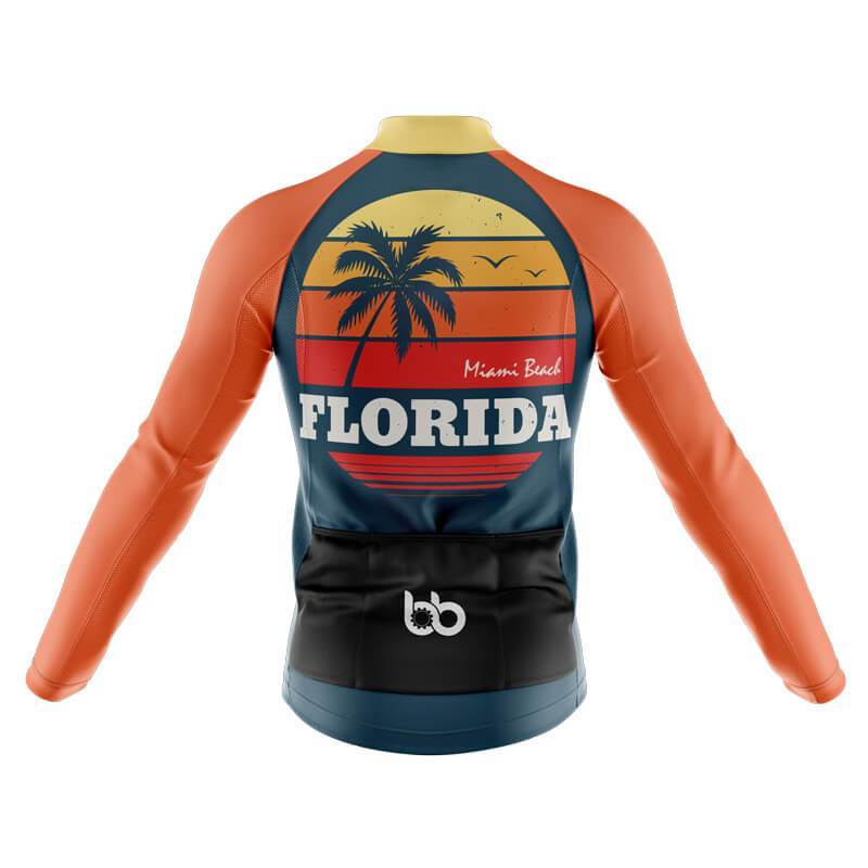Bicycle Booth Long Sleeve Jerseys XXS / Male Florida Long Sleeve Jersey (V3)