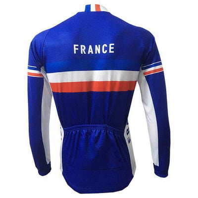 Bicycle Booth Long Sleeve Jerseys France Long Sleeve Jersey