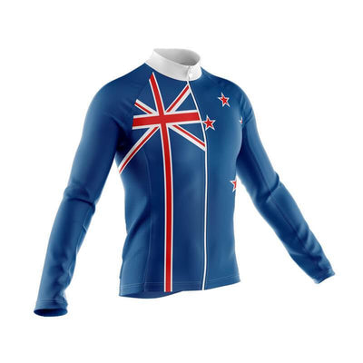 Bicycle Booth Long Sleeve Jerseys New Zealand Long Sleeve Jersey (V2)