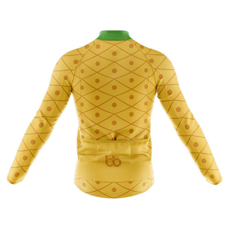 Bicycle Booth Long Sleeve Jerseys XXS / Male Pineapple Long Sleeve Jersey