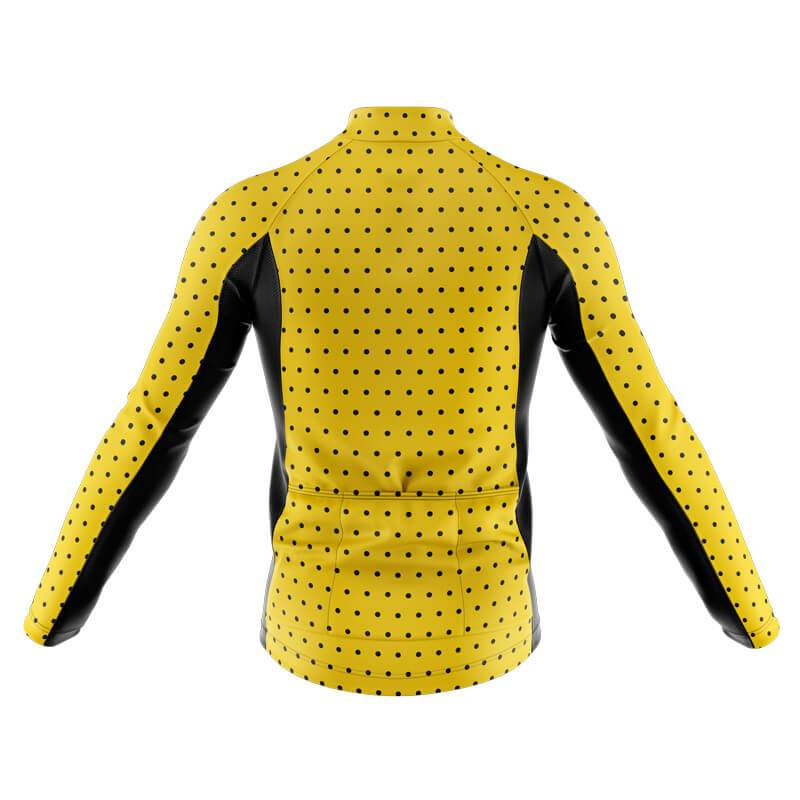 Bicycle Booth Long Sleeve Jerseys XXS / Male Polka Dot 1 Long Sleeve Jersey (V4)