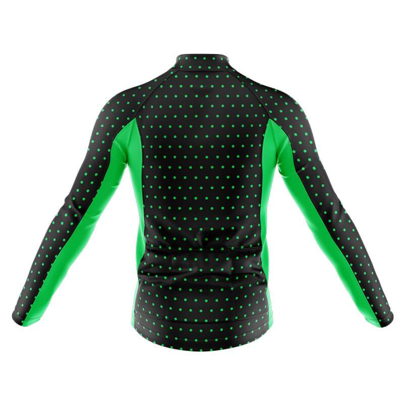 Bicycle Booth Long Sleeve Jerseys XXS / Male Polka Dot 1 Long Sleeve Jersey (V7)