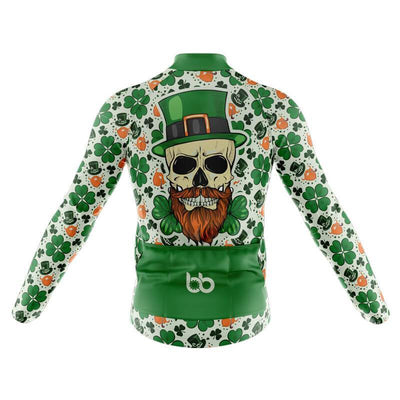 Bicycle Booth Long Sleeve Jerseys St. Patrick Pt. 2 Long Sleeve Jersey (V3)