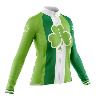 Bicycle Booth Long Sleeve Jerseys St. Patrick (V1) Long Sleeve Jersey