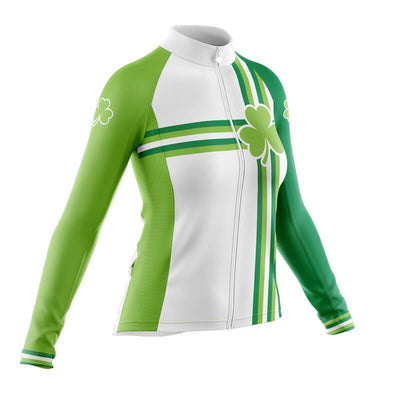 Bicycle Booth Long Sleeve Jerseys St. Patrick (V2) Long Sleeve Jersey