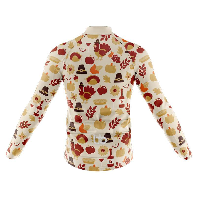 Bicycle Booth Long Sleeve Jerseys XXS / Male Thanksgiving Long Sleeve Jersey (V2)