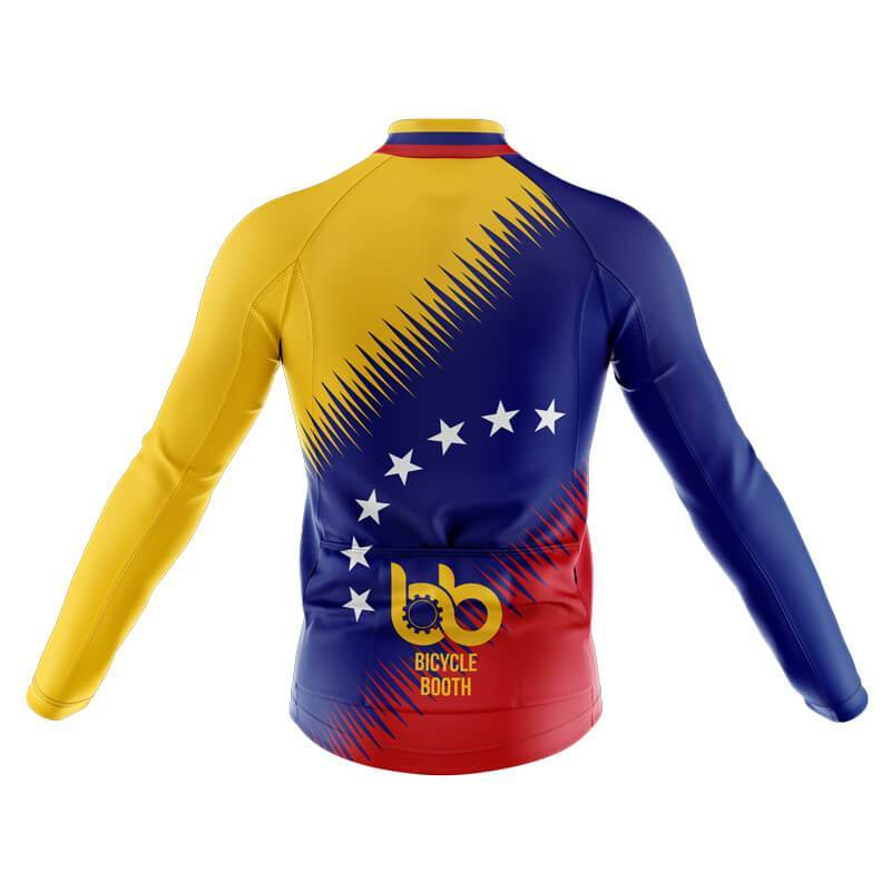 Bicycle Booth Long Sleeve Jerseys XXS / Male Venezuela Long Sleeve Jersey (V2)