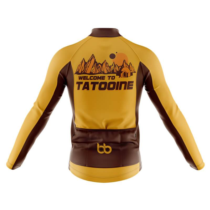 Bicycle Booth Long Sleeve Jerseys XXS / Male Welcome to Tatooine Long Sleeve Jersey