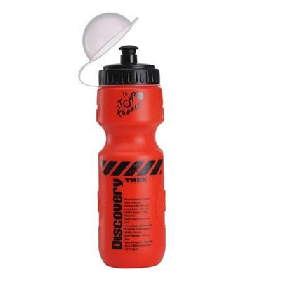 Bicycle Booth Red Discovery Cycling Water Bottle
