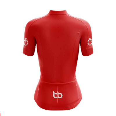 Bicycle Booth Short Sleeve Jersey Bike Forever Jersey (Red)