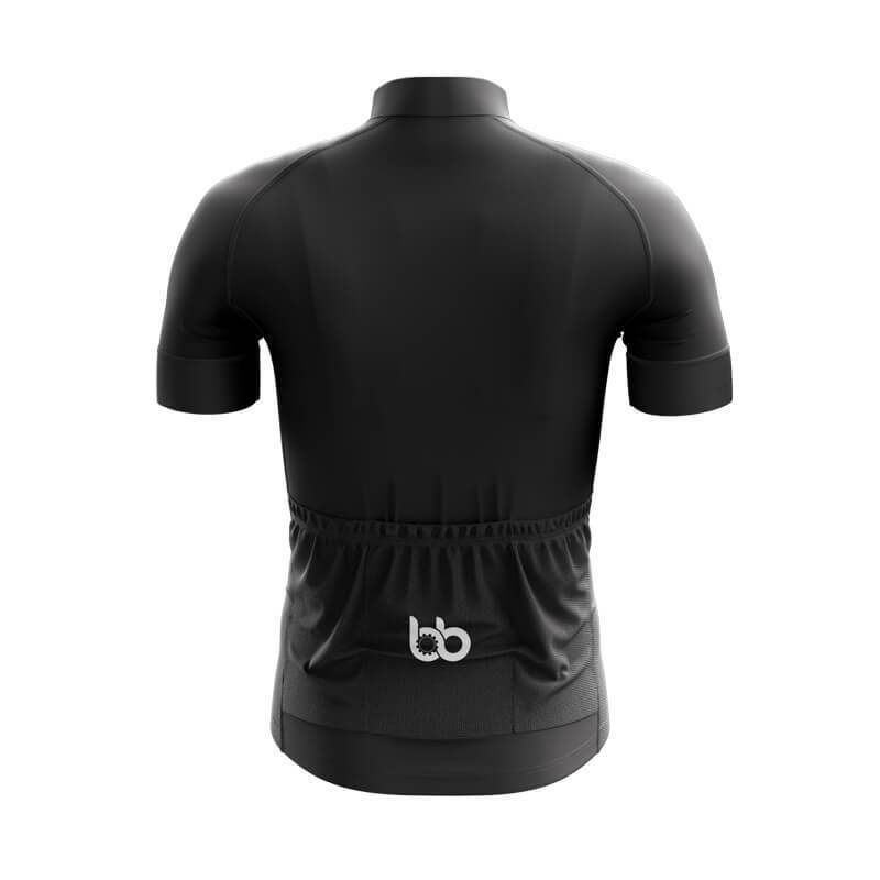 Bicycle Booth Short Sleeve Jersey XXS / Male Black Jersey