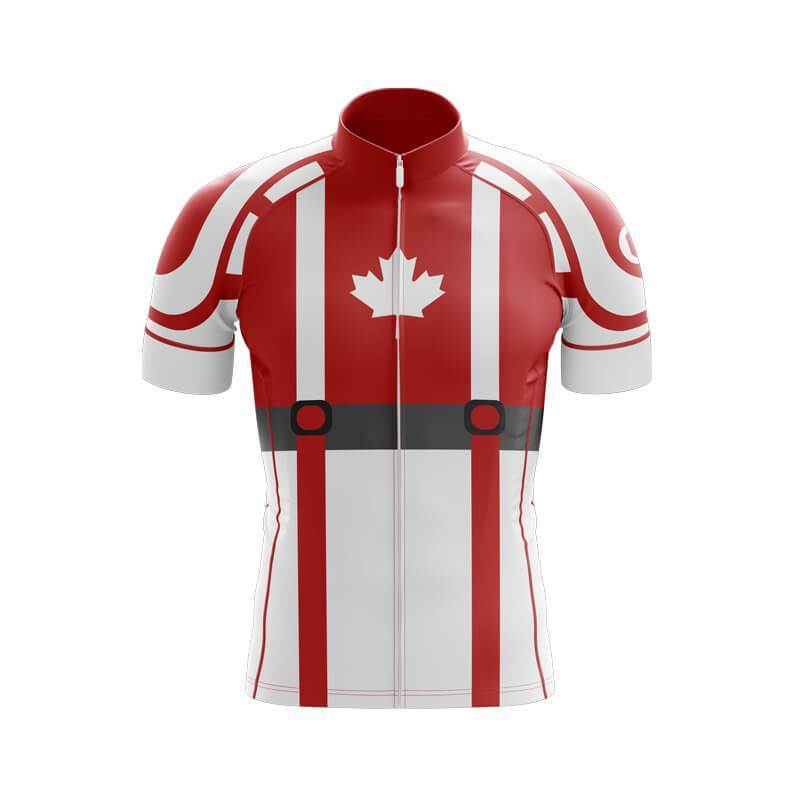 Bicycle Booth Short Sleeve Jersey XXS / Male Captain Canada Jersey (V1)