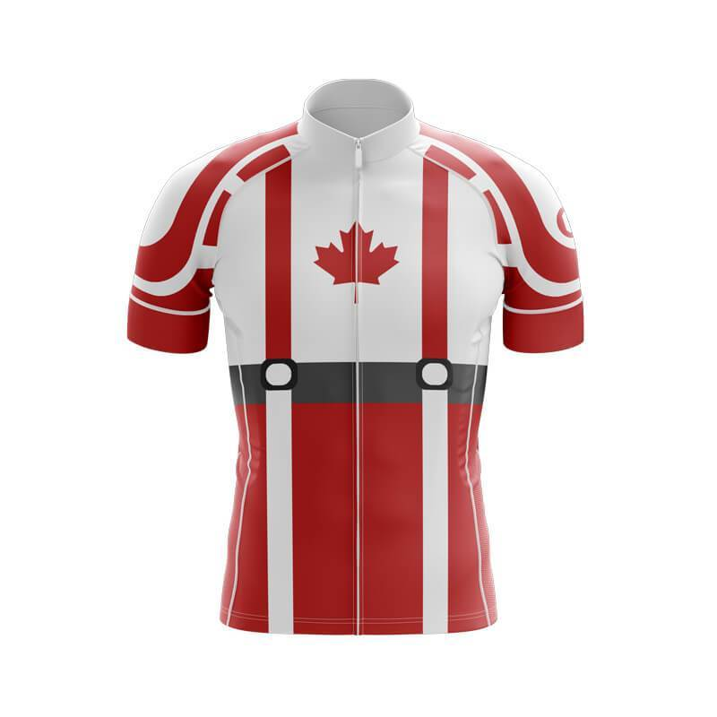 Bicycle Booth Short Sleeve Jersey XXS / Male Captain Canada Jersey (V2)
