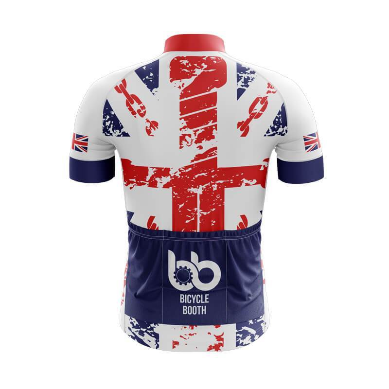 Bicycle Booth Short Sleeve Jersey XXS / Male England Jersey (V2)