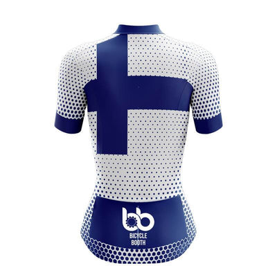 Bicycle Booth Short Sleeve Jersey Finland Jersey (V3)