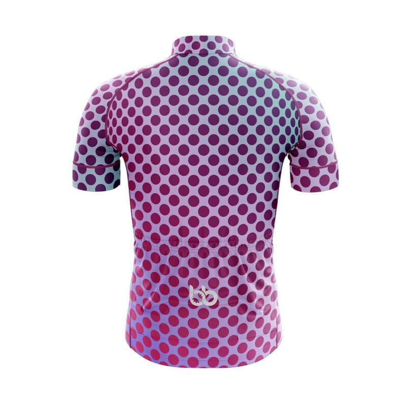 Bicycle Booth Short Sleeve Jersey XXS / Male Gradient Dotted Jersey V1