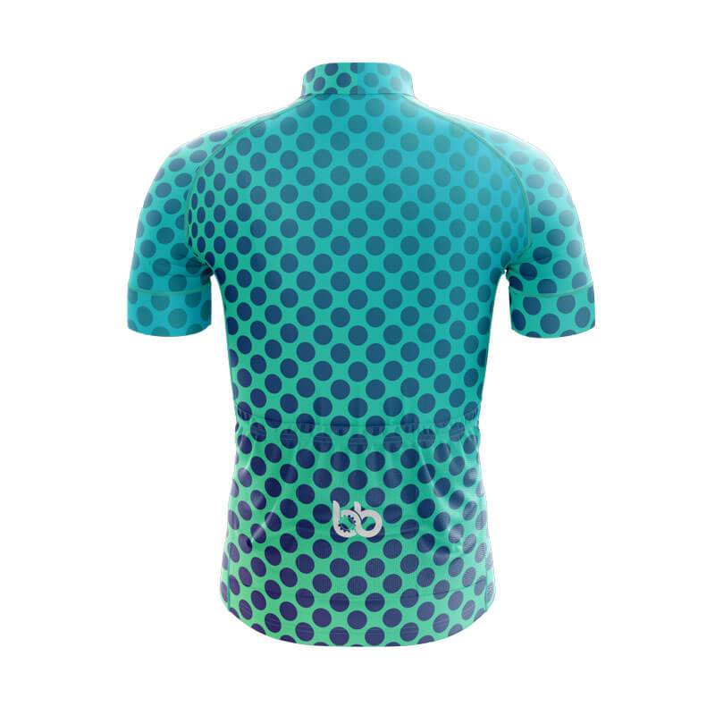 Bicycle Booth Short Sleeve Jersey XXS / Male Gradient Dotted Jersey V2