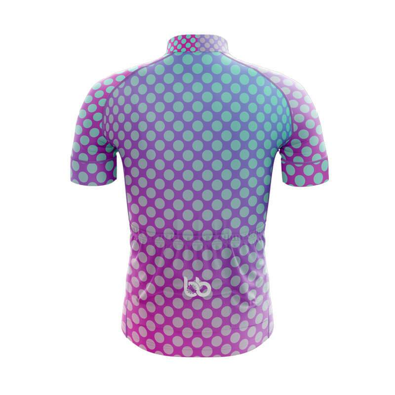 Bicycle Booth Short Sleeve Jersey XXS / Male Gradient Dotted Jersey V7