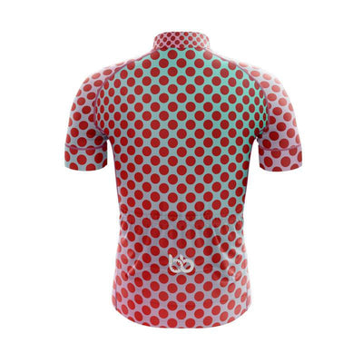 Bicycle Booth Short Sleeve Jersey Gradient Dotted Jersey V8