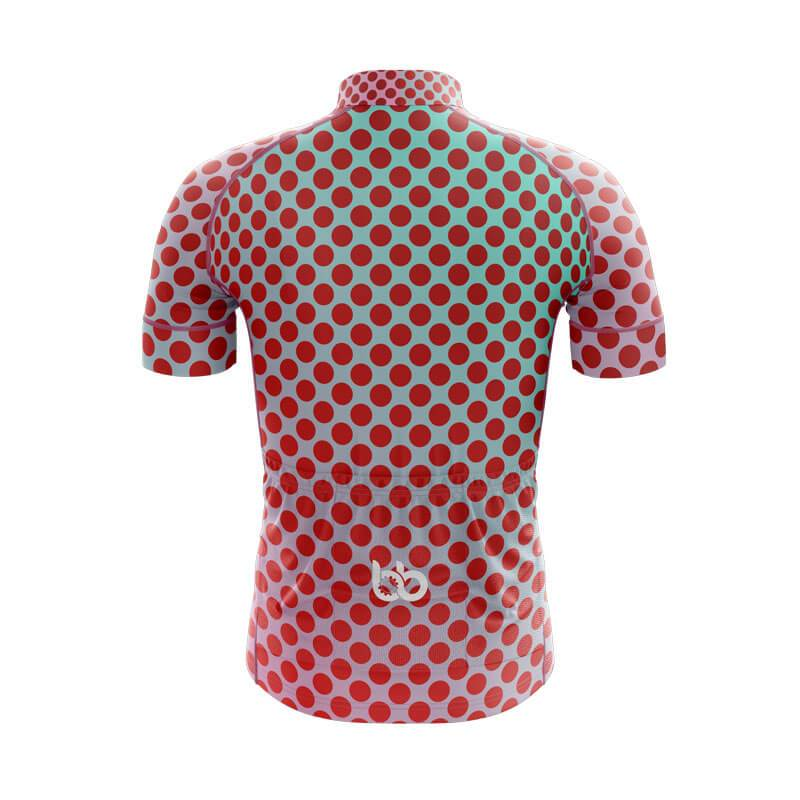 Bicycle Booth Short Sleeve Jersey XXS / Male Gradient Dotted Jersey V8