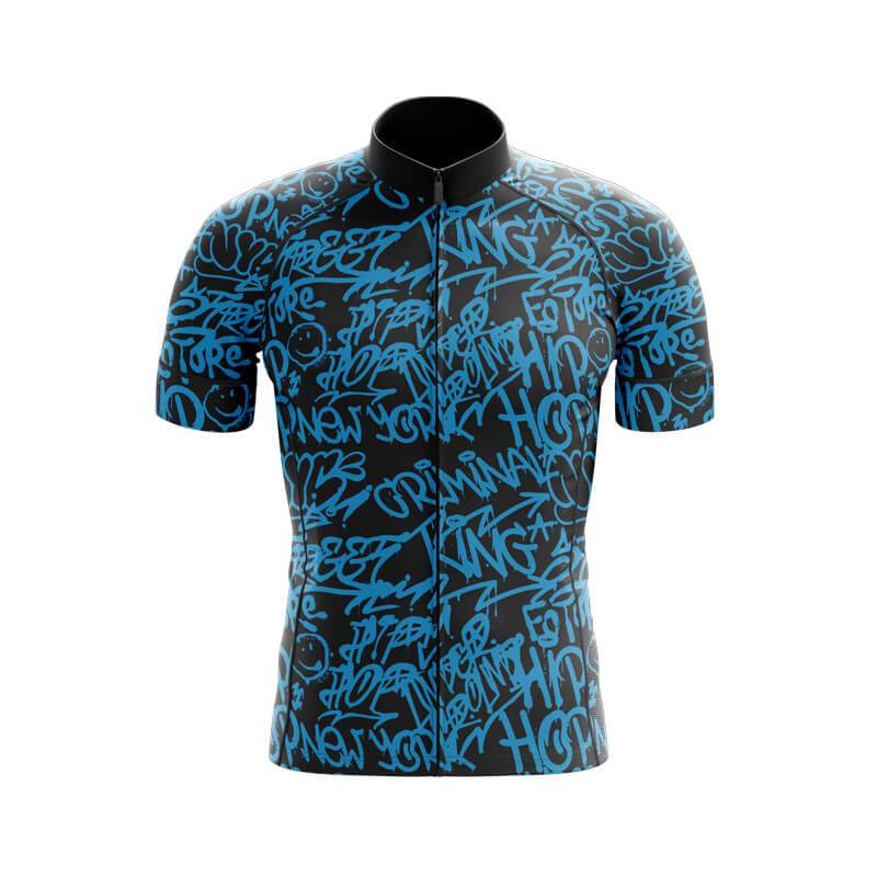 Bicycle Booth Short Sleeve Jersey XXS / Male Graffiti Jersey V5