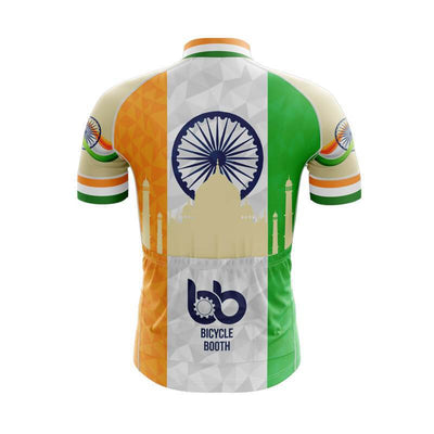 Bicycle Booth Short Sleeve Jersey India Jersey (V4)