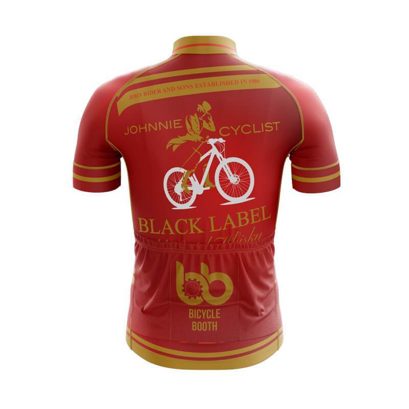 Bicycle Booth Short Sleeve Jersey XXS / Male Johnnie Cycling (Red Label) Jersey