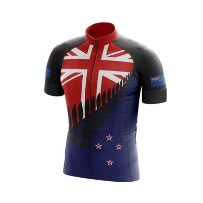 Bicycle Booth Short Sleeve Jersey New Zealand Jersey (V5)