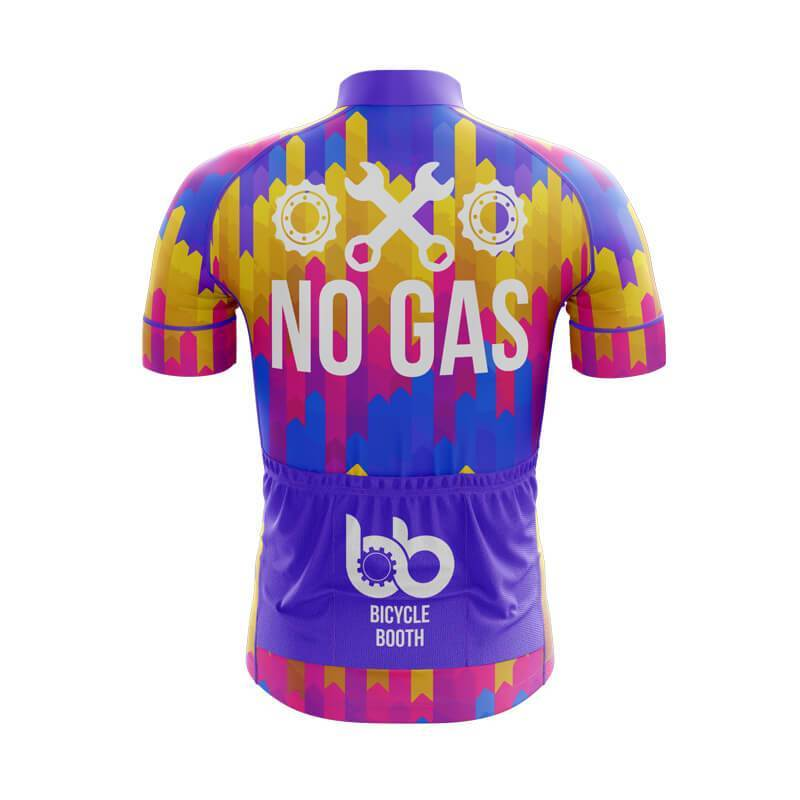 Bicycle Booth Short Sleeve Jersey XXS / Male No Gas Jersey (V1)